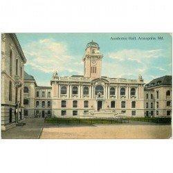 carte postale ancienne ANNAPOLIS. Academic Hall