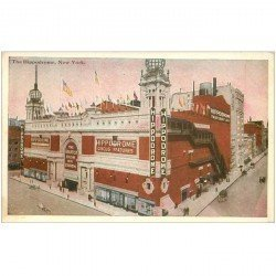 carte postale ancienne NEW YORK CITY. The Hippodrome Circus Filature