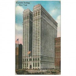 carte postale ancienne NEW YORK. Equitable Building 1919
