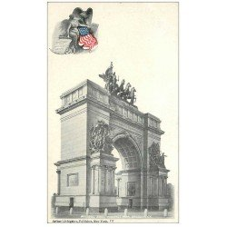 carte postale ancienne NEW YORK. Memorial Arch Prospect Park Brooklin