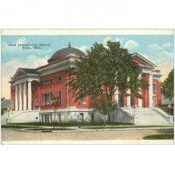 carte postale ancienne OKLAOMA. First Presbyterian Church Tulsa