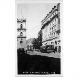 carte postale ancienne COLOMBIE. Bogota. Hôtel Granada