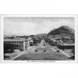 carte postale ancienne PANAMA CANAL. Balboa Bureaux de la Direction