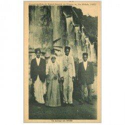 carte postale ancienne ASIE. Inde. Un Mariage aux Indes