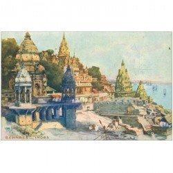 carte postale ancienne INDE. Benares