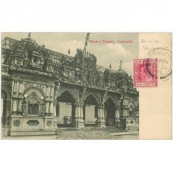 carte postale ancienne INDE. Colombo. Hindoo Temple 1904