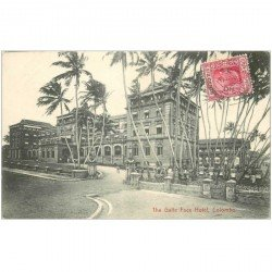 carte postale ancienne INDE. Colombo. The Galle Face Hotel 1908