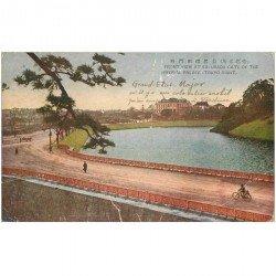 carte postale ancienne JAPON. Tokyo Imperial Palace 1926