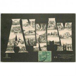 carte postale ancienne VIET NAM. Annam multivue fantaisie 1906