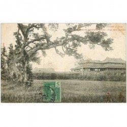 carte postale ancienne VIET NAM. Annam. Hué. Tribunes et cavaliers du Roi 1907