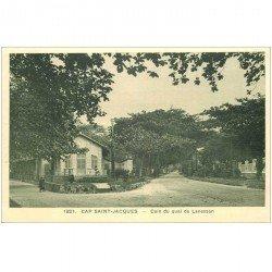 carte postale ancienne VIET NAM. Cap Saint Jacques. Coin du Quai de Lanessan
