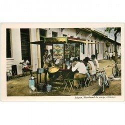 carte postale ancienne VIET NAM. Saïgon Marchand de soupe chinoise
