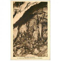 carte postale ancienne VIET-NAM. Baie d'Along Grotte des Merveilles