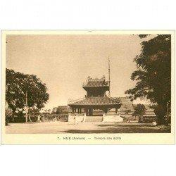 carte postale ancienne VIET-NAM. Hué Annam. Temple des Edits