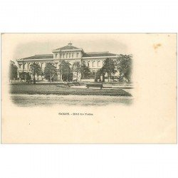 carte postale ancienne VIET-NAM. Saïgon. Hôtel des Postes vers 1900