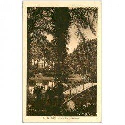 carte postale ancienne VIET-NAM. Saïgon. Jardin Botanique
