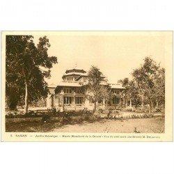 carte postale ancienne VIET-NAM. Saïgon. Jardin Musée Blanchard de la Brosse