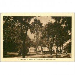 carte postale ancienne VIET-NAM. Saïgon. Palais du Gouverneur Cochinchine