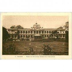 carte postale ancienne VIET-NAM. Saïgon. Palais du Gouverneur Général de l'Indo Chine
