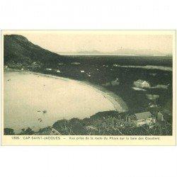 carte postale ancienne Viêt-Nam.. CAP SAINT JACQUES. Baie des Cocotiers Route du Phare