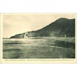 carte postale ancienne Viêt-Nam.. CAP SAINT JACQUES. Plage Baie des Cocotiers Grand Mamelon
