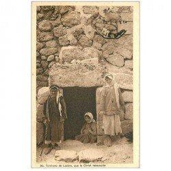 carte postale ancienne ASIE. Palestine. Tombeau de Lazare 1923