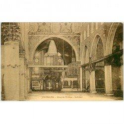 carte postale ancienne ASIE. Palestine Israël. Jérusalem. Mosquée El Aksa