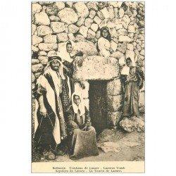 carte postale ancienne ISRAEL PALESTINE. Bethanie Tombeau de Lazare