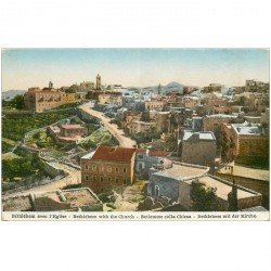 carte postale ancienne ISRAEL PALESTINE. Bethlehem. Eglise Church Chiesa Kirche