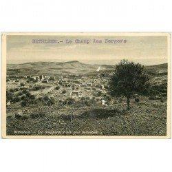carte postale ancienne ISRAEL PALESTINE. Bethlehem. Le Champ des Bergers