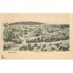 carte postale ancienne ISRAEL PALESTINE. Jérusalem. Mont des Oliviers vers 1900