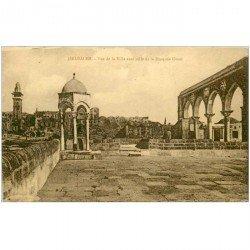 carte postale ancienne ISRAEL PALESTINE. Jérusalem. Mosquée Omar
