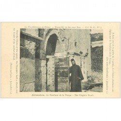 carte postale ancienne ISRAEL PALESTINE. Lot n°4 de 10 cpa. Jérusalem, Nazareth, Bethléhem, Caïphe, Monte Carmelo
