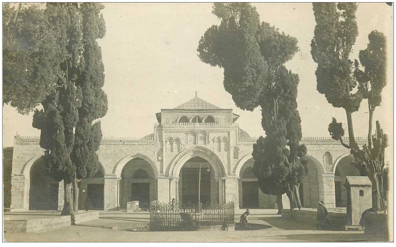 carte postale ancienne ISRAEL PALESTINE. Lot n°4 de 10 cpa. Jérusalem, Nazareth, Bethléhem, Siloë, Opperzaal...