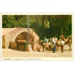 carte postale ancienne ISRAEL PALESTINE. Lot n°6 de 10 cpa. Jérusalem, Nazareth, Bethléhem, Monte Carmelo, Jéricho, Jaffa...