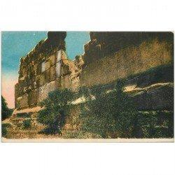 carte postale ancienne Liban Syrie. BAALBECK. Pierre Cyclopéen 1932