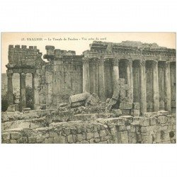 carte postale ancienne Liban Syrie. BAALBECK. Temple Bacchus 17