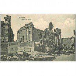 carte postale ancienne Liban Syrie. BAALBECK. Temple du Soleil