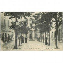 carte postale ancienne SYRIE. Alep Collège des R.R.P.P Franciscains de Terre Sainte