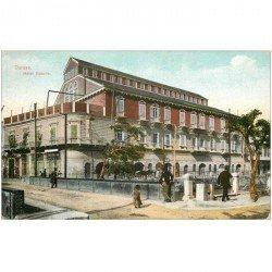 carte postale ancienne SYRIE. Damas Hôtel Victoria 1921