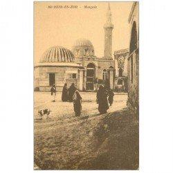 carte postale ancienne SYRIE. Deir es Zor. Mosquée