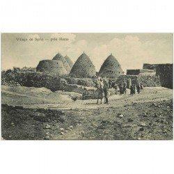 carte postale ancienne SYRIE. Village prés Hama