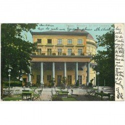 carte postale ancienne ALLEMAGNE. Aachen Belvedere auf dem Lousberg 1906