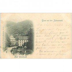 carte postale ancienne ALLEMAGNE. Bad Sulzbach. Gruss aus dem Schwarzwald 1908