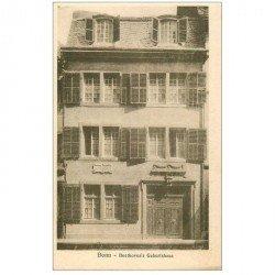 carte postale ancienne ALLEMAGNE. Bonn. Beethowen's Geburthaus