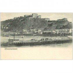 carte postale ancienne ALLEMAGNE. Ehrenbreitstein vers 1900