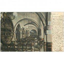 carte postale ancienne ALLEMAGNE. Gruss aus Bremen Ratskeller 1900