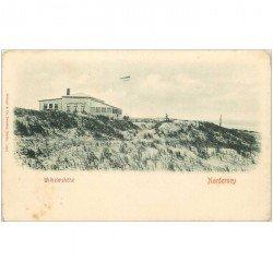 carte postale ancienne Allemagne. WILHELMSHOHE Norderney vers 1900