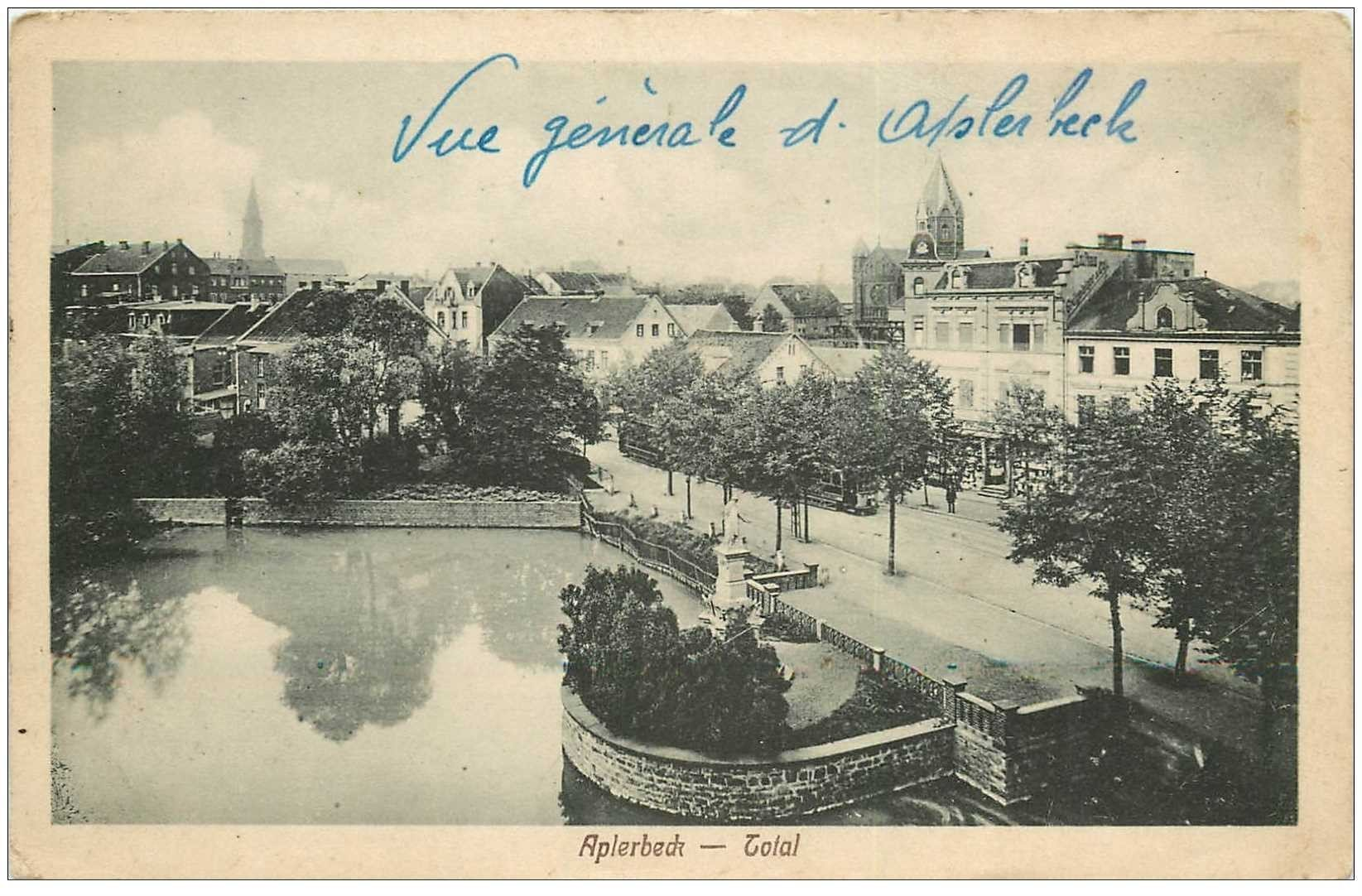 carte postale ancienne APLERBECK. Total