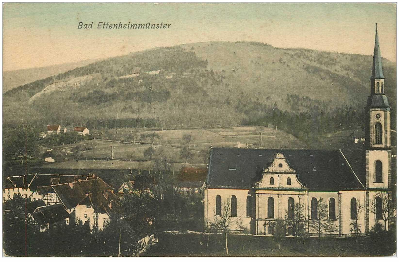 carte postale ancienne Bad Ettenheimmünster